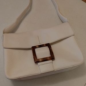 Adrienne Vittadini white handbag purse